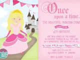 Princess Bday Party Invitations Princess Birthday Party Invitations Printable Invites