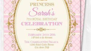 Princess Birthday Invitation Template 18 Beautiful Princess Invitations Psd Ai Free