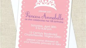 Princess Dress Up Party Invitations Princess Dress Up Party Birthday Invitations