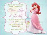 Princess First Birthday Invitation Wording 1st Birthday Princess Invitation Wording