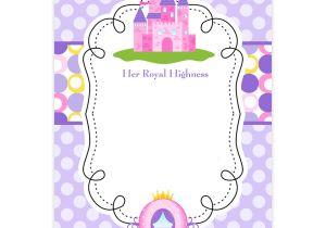 Princess Party Invitation Template Free Princess Birthday Invitations Bagvania