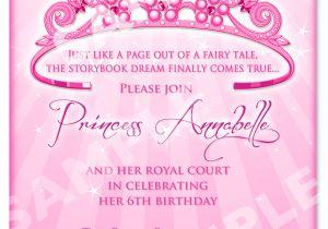 Princess Party Invitation Template Princess Birthday Invitation Diy Princess by Artisacreations