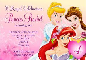 Princess Party Invitation Template Princess Birthday Invitation Template Digital File