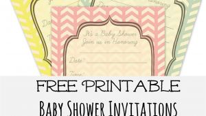 Print Baby Shower Invitations Free Free Baby Shower Invites Frugal Fanatic