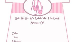 Printable Baby Girl Shower Invitations Girl Baby Shower Invitations Printable