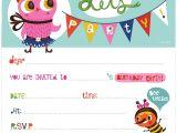 Printable Birthday Party Invitation Templates Printable Birthday Invitations Template Best Template