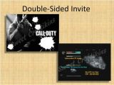 Printable Call Of Duty Birthday Invitations Diy Printable Cod Birthday Party Invitation Call Of Duty
