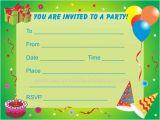 Printable Childrens Birthday Party Invitations Printable Boy Birthday Party Invitations Listmachinepro Com