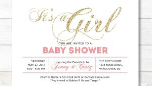 Printable Coed Baby Shower Invitations Girl Baby Shower Invitation Coed Couples Baby Shower