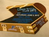 Printable College Trunk Party Invitations College Bound Trunk Party Invitation 39 Prissypeoples