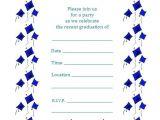 Printable Graduation Invitations 2018 Free Printable Graduation Party Invitations