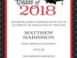 Printable Graduation Invitations 2018 Graduation Party Invitations High School or College