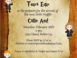 Printable Harry Potter Baby Shower Invitations Harry Potter Baby Shower Invite butter Beer