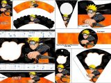 Printable Naruto Birthday Invitations Naruto Free Party Printables Oh My Fiesta for Geeks