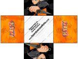 Printable Naruto Birthday Invitations Naruto Free Printable Boxes Oh My Fiesta for Geeks