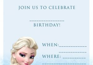 Printable Personalized Frozen Birthday Invitations 17 Best Ideas About Free Frozen Invitations On Pinterest
