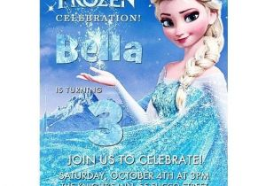 Printable Personalized Frozen Birthday Invitations Disney Frozen Birthday Party Invitation Invite Printable
