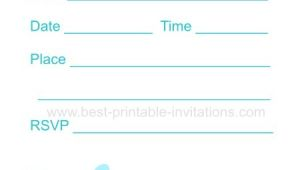 Printable Pool Party Invitations Printable Pool Party Invitation