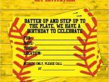 Printable softball Birthday Invitations 1000 Ideas About softball Birthday Cakes On Pinterest