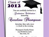 Printed Graduation Party Invitations Graduation Party or Announcement Invitation Printable or