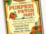 Pumpkin Patch Party Invitations Chandeliers Pendant Lights