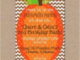 Pumpkin Patch Party Invitations Pumpkin Patch Birthday Party Invitations Cimvitation