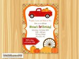 Pumpkin Patch Party Invitations Red Truck Pumpkin Patch Invitation Pumpkin Patch Invitation