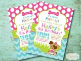 Puppy Birthday Party Invites Puppy Party Invitation Cimvitation