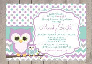 Purple and Grey Baby Shower Invitations Purple and Grey Baby Shower Invitation Various