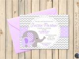 Purple and Grey Baby Shower Invitations Purple and Grey Baby Shower Invitations Grey and Purple Baby