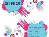 Quarter Fold Party Invitation Template Party Invitation Quarter Fold