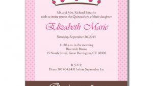 Quinceanera Invitation Wording In English Quince Invitation In English orderecigsjuice Info