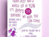 Quotes for Birthday Invitation Fairy Birthday Party Invitation Download Pdf Personalised