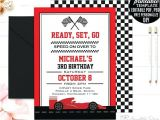 Race Car Party Invitation Templates Editable Birthday Invitations Templates Free Race Car Boy