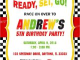 Race Car Party Invitation Templates Race Car Invitation Printable Race Car Birthday