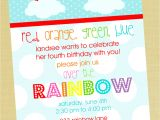 Rainbow Party Invitation Template 5 Perfect Rainbow Party Invitation Wording Braesd Com