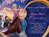 Rapunzel Birthday Invitation Template Rapunzel Party Invitation Printable Templates