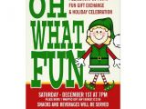 Re Gift Party Invitation Christmas Elf Girl Gift Exchange Party 5×7 Paper