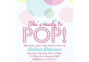 Ready to Pop Baby Shower Invitations Free Ready to Pop Baby Shower Invitation