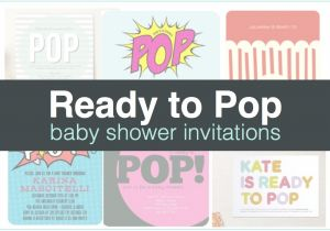 Ready to Pop Baby Shower Invitations Free Ready to Pop Baby Shower Invitations