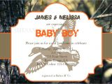 Realtree Camo Baby Shower Invitations Boy Realtree Camo Baby Shower Invitation by