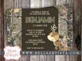 Realtree Camo Baby Shower Invitations Realtree Camouflage and Deer Baby Shower by