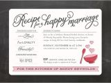 Recipe themed Bridal Shower Invitation Wording 23 Bridal Shower Invitation Ideas that You Re Going to Love