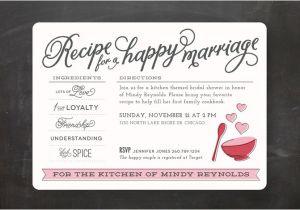 Recipe themed Bridal Shower Invitation Wording 23 Bridal Shower Invitation Ideas that You Re Going to Love