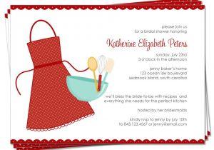 Recipe themed Bridal Shower Invitation Wording Bridal Shower Invitations Bridal Shower Invitations