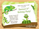 Reptile Birthday Party Invitations Printable Reptile Birthday Party Invitation by eventfulcards On Etsy