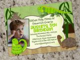 Reptile Birthday Party Invitations Printable Reptile Birthday Party Invitation Reptile themed Party