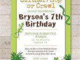 Reptile Party Invites Reptile Birthday Invitations Safari Jungle Bugs Insects