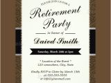 Retirement Party Invitation Template Download Sample Invitation Template Download Premium and Free