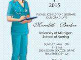 Rn Graduation Invitations Nurse Graduation Invitation Nursing School by Announceitfavors